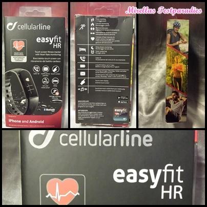 Fitnesstracker easyfit HR von Cellularline – Schick und Intuitiv in der Nutzung