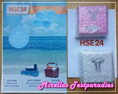 Nick Assfalg Transparent Powder und Rock my Heart Eyeshadow von HSE24