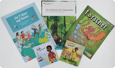 Gratis Infomaterialien - Malbücher und Co. für Kinder zum Spielen und Lernen