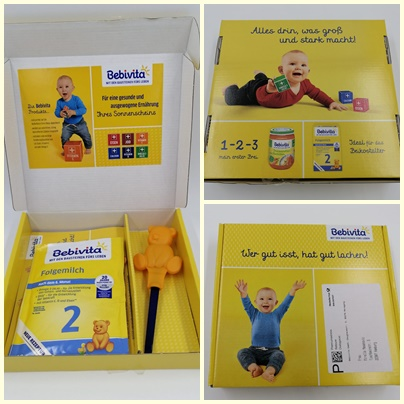 Gratis Produktpakete im Baby Club von Bebivita - Gläschen und mehr für dein Baby