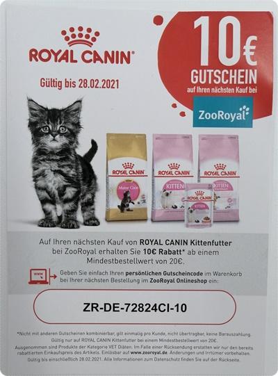 Royal Canin Second Age Kitten Trockenfutter - Leider zu Intransparente Rezeptur