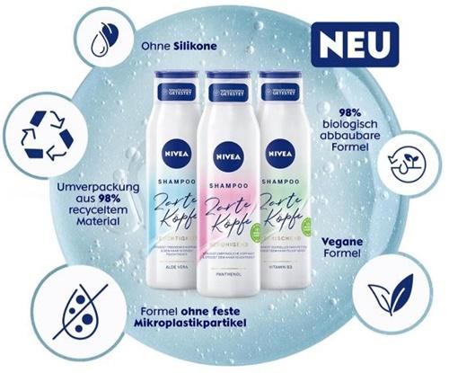 Nivea Zarte Köpfe - Pflege für Haare UND Kopfhaut
