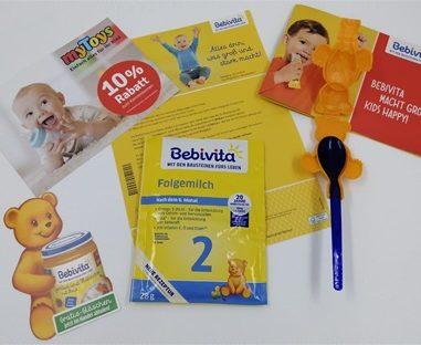 Gratis Produktpakete im Baby Club von Bebivita – Gläschen und mehr für dein Baby