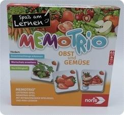 MemoTrio Obst und Gemüse – Spielerisch mehr über Obst und Gemüse lernen