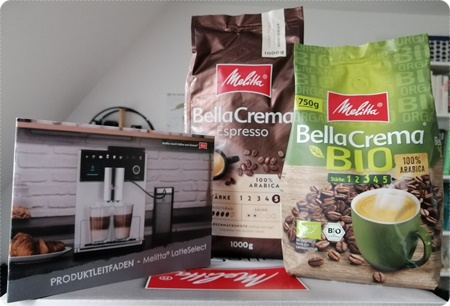 Der Melitta LatteSelect Kaffeevollautomat zieht bei uns ein