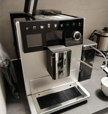 Melitta LatteSelect Kaffeevollautomat – Erster Eindruck, Aufbau und Einrichtung
