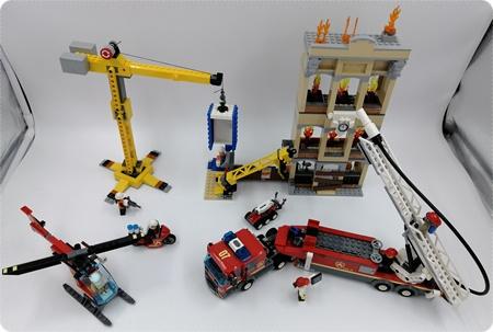 LEGO City Feuerwehr in der Stadt - Spaß für klein UND groß