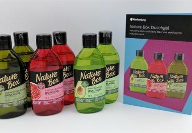 Duschgel von Nature Box – Auch beim Duschen die Natur schonen