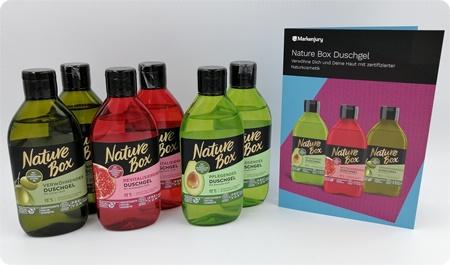 Duschgel von Nature Box - Auch beim Duschen die Natur schonen
