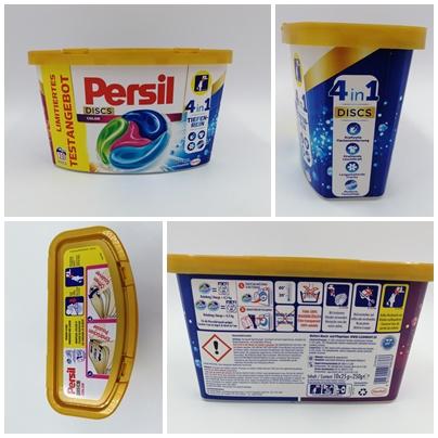 4in1 Persil Discs Color - Eine schnelle, saubere Sache
