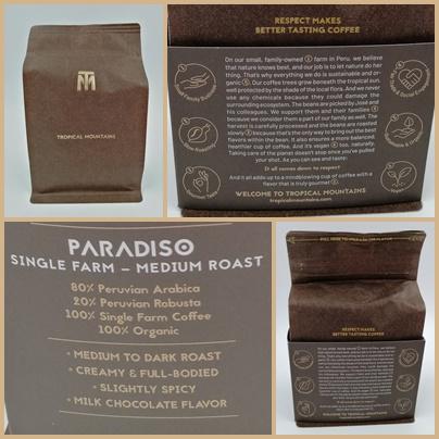 Tropical Mountains Paradiso Kaffeebohnen - Unterstütze Bauern und genieße guten Espresso
