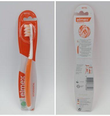 elmex Interdental Zahnbürste Mittel – Effektive Reinigung der Zahnoberfläche und Zahnzwischenräume
