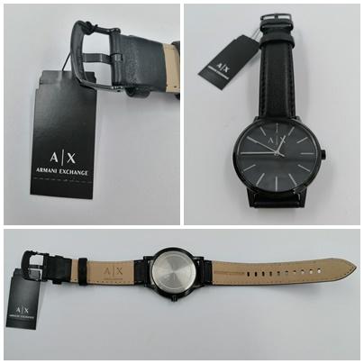 Armani Exchange AX2705 - Stilsichere Uhr ganz in schwarz