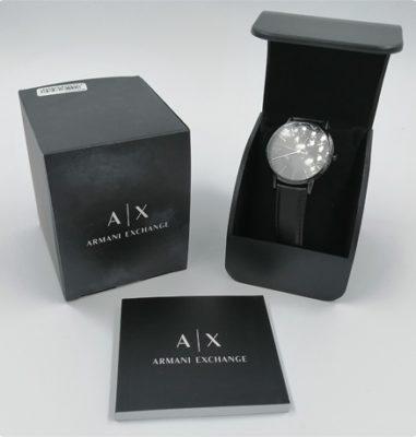 Armani Exchange AX2705 – Stilsichere Uhr ganz in schwarz
