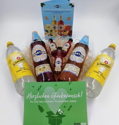 MARTINI Alkoholfrei Vibrante und Floreale – Leckerer alkoholfreier Longdrink