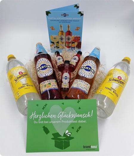 MARTINI Alkoholfrei Vibrante und Floreale - Leckerer alkoholfreier Longdrink