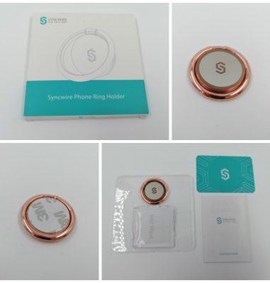Phone Ring Holder von Syncwire – Handyringhalter für den Schutz deines Handys