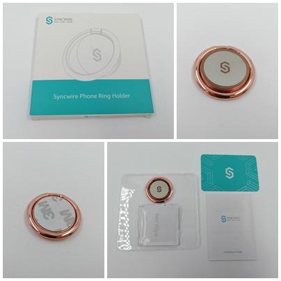 Phone Ring Holder von Syncwire - Handyringhalter für den Schutz deines Handys