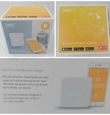 tado Thermostat Starter Kit V3 und Extension Kit (Funk) – Smart heizen und Heizkosten sparen