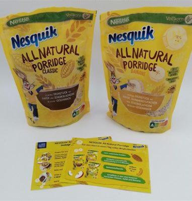 NESQUIK All Natural Porridge – Ein süßes und trotzdem gesünderes Frühstück