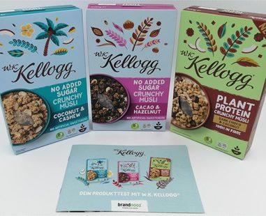 W.K. Kellogg Müsli – Müsli ohne Zucker kann so lecker sein