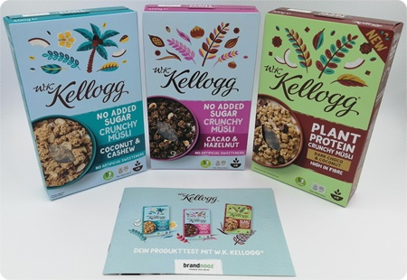 W.K. Kellogg Müsli - Müsli ohne Zucker kann so lecker sein