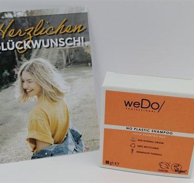 No Plastic Shampoo Haarseife von weDo/ Professional – Nachhaltiges festes Shampoo mit himmlischem Duft