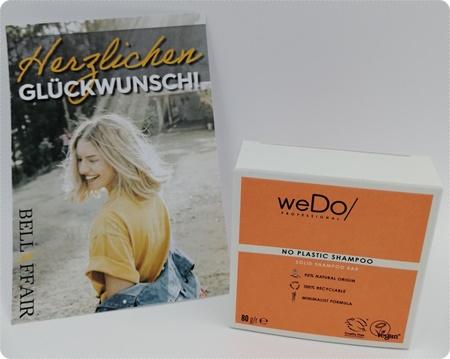 No Plastic Shampoo Haarseife von weDo/ Professional - Nachhaltiges festes Shampoo mit himmlischem Duft