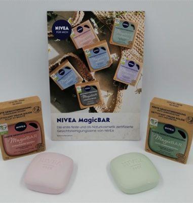 MagicBAR von NIVEA – Feste Gesichtsreinigung für mehr Nachhaltigkeit im Badezimmer