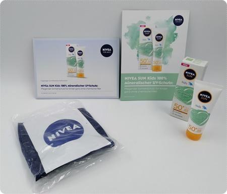 Kids mineralischer UV-Schutz mit Bio Aloe Vera von NIVEA - Natürlicher Schutz für dein Kind