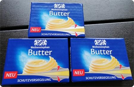 Verpackung mit Schutzversiegelung - Nie wieder fettige Finger dank der Weihenstephan Butter