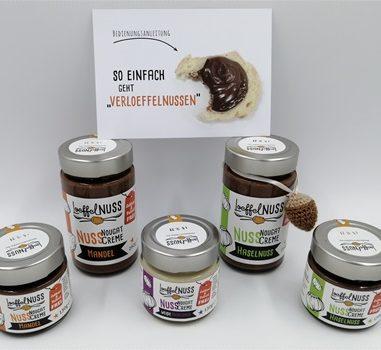 Laktose- und palmölfreie Nuss-Nougat-Creme – Löffelglück macht es möglich