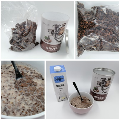 BRüSLi Knuspermüsli - Nachhaltigkeit leben mit leckerem Müsli aus Brot