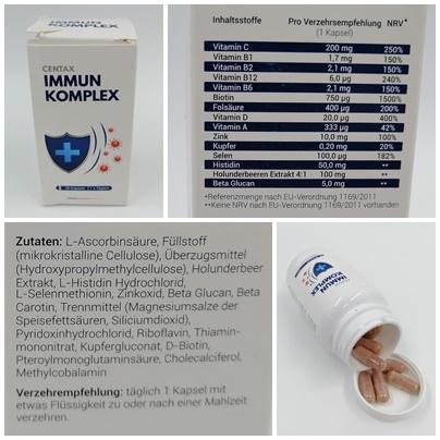 Nahrungsergänzungsmittel von Centax Pharma - Optimale Versorgung in jeder Lebenslage