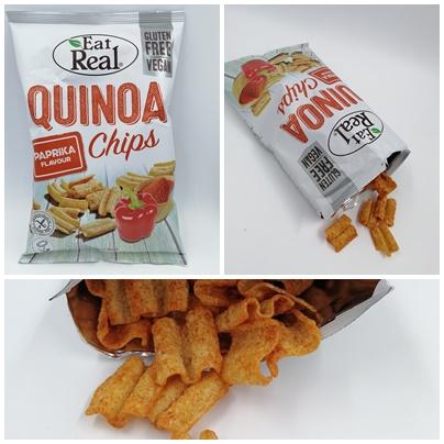 Gesünder Snacken mit den veganen Chips von Eat Real - Leckere Linsen, Hummus und Quinoa Chips