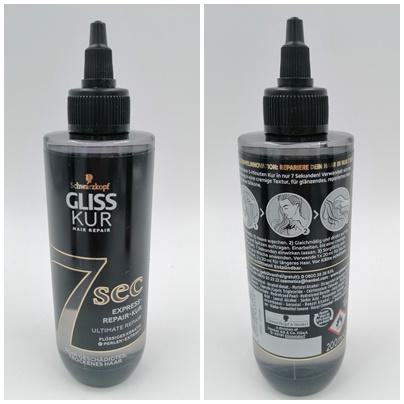 Die Gliss Kur 7 Sec Express-Repair-Kur - Pflege deine Haare intensiv in nur 7 Sekunden