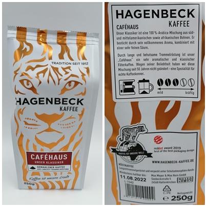 Hagenbeck Kaffee - Tierisch wilder Kaffee mit vollmundigem Aroma
