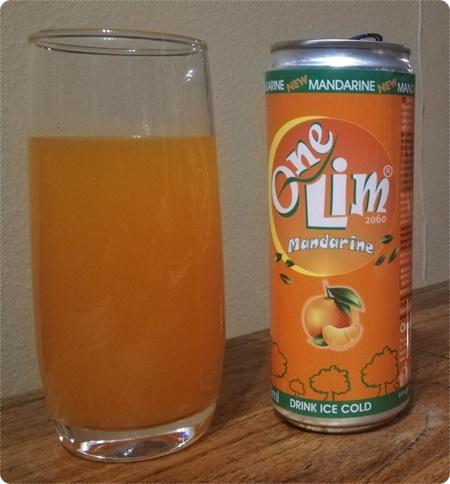 One Lim Mandarine von Oran-by - Erfrischungsgetränk mit Mandarinen-Geschmack
