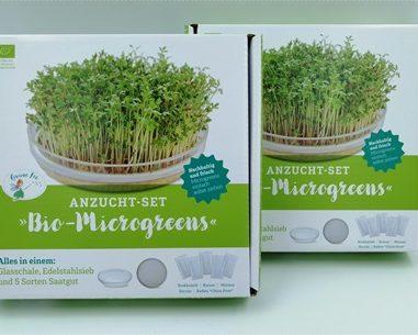 Bio Microgreens Anzuchtset – Züchte deine eigenen gesunden, frischen Bio-Sprossen
