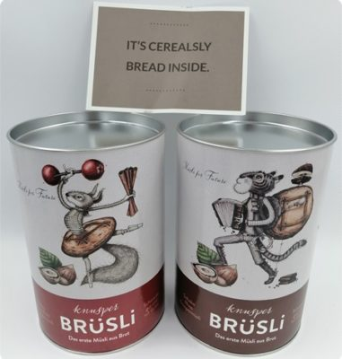 BRüSLi Knuspermüsli – Nachhaltigkeit leben mit leckerem Müsli aus Brot