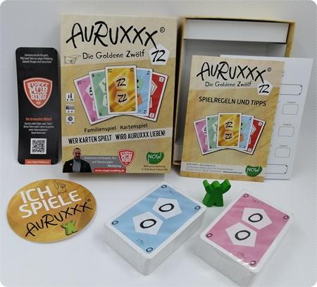 AURUXXX - Die Goldene 12 - Ein Kartenspiel das nie langweilig wird