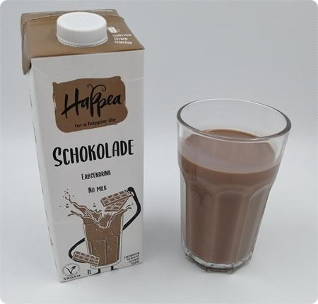 Happea Erbsendrink - Vegane Milch aus Erbsen in drei Sorten