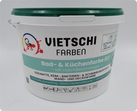 Wir testen Bad- & Küchenfarbe von Vietschi-Farben - Profi-Produkte zum fairen Preis