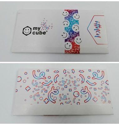 Individueller Foto-Springwürfel mit Konfetti von myCube.S – Mehr Überraschung geht nicht