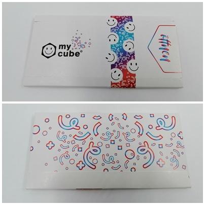 Individueller Foto-Springwürfel mit Konfetti von myCube.S - Mehr Überraschung geht nicht
