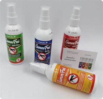 Insektenschutz von SummFrei - Zuverlässiger Schutz gegen Mücken, Zecken und Bremsen