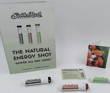 SuddenRush Guarana – Wirkungsvolle und gesunde Alternative zu Energy Drinks