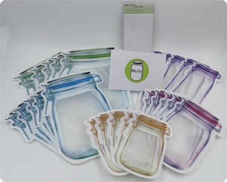 Ordnung in der Küche - Dank den nachhaltigen, wiederverwendbaren MyZip Beuteln