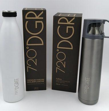 720°DGREE – BPA-freie Trinkflaschen und Isolierprodukte für mehr Nachhaltigkeit
