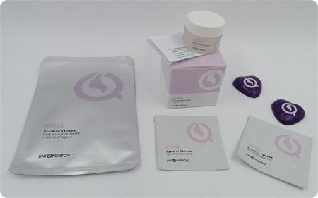 Aufpolsternde Lippenpflege und weitere medizinisch getestete Produkte von UNIQFORYOU®